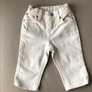 Polo RL Beige Denim Jeans Size 9 mos
